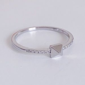 White Gold & Diamond Ring